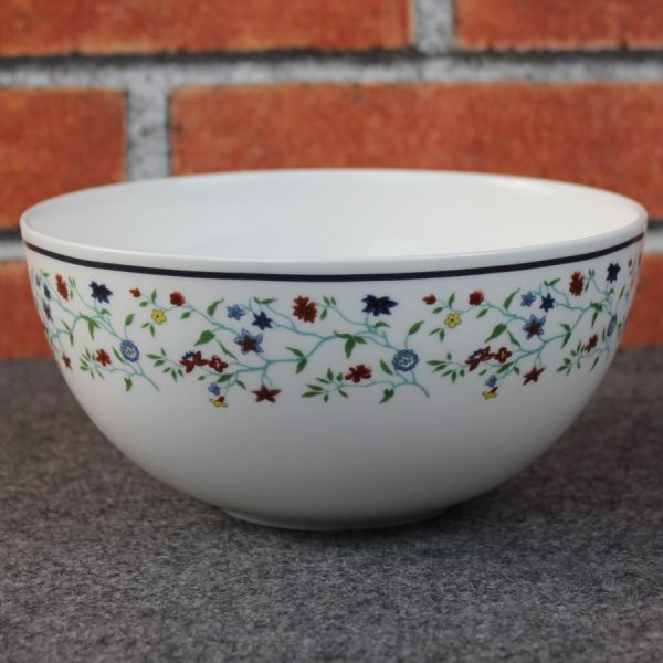 """Smith College Maytime China pattern 6"""" cereal bowl"""