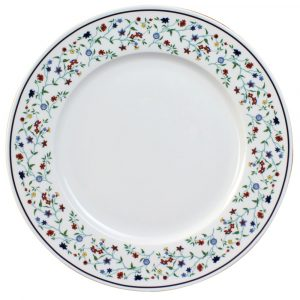 Smith College Maytime China pattern dinner plate